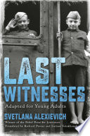 Book cover of LAST WITNESSES ADAPTED FOR YOUNG ADULTS