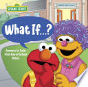 Book cover of WHAT IF - 1ST-DAY-OF-SCHOOL JITTERS