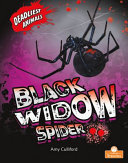 Book cover of BLACK WIDOW SPIDER