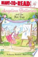 Book cover of ANGELINA BALLERINA & THE ART FAIR