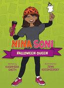 Book cover of NINA SONI HALLOWEEN QUEEN